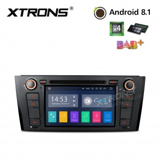 "7""Android 8.1 Quad Core 16GB ROM + 2G RAM car stereo multimedia navigation system with Full RCA Output Costom Fit for BMW"
