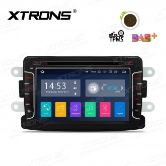 """7""""Android 8.1 Quad Core 16GB ROM + 2G RAM car stereo multimedia navigation system with Full RCA Output Costom Fit for Dacia & Renault"""