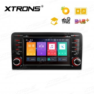 "7"" Android 8.0 Octa-Core 32GB ROM + 4G RAM Multimedia DVD Player Support car auto play Custom fit for Audi A3 / S3 / RS3"
