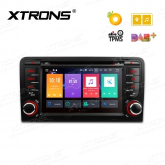 """7"""" Android 8.0 Octa-Core 32GB ROM + 4G RAM Multimedia DVD Player Custom fit for Audi A3 / S3 / RS3"""