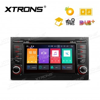 """7"""" Android 8.0 Octa-Core 32GB ROM + 4G RAM Multimedia DVD Player Support car auto play Custom fit for Audi A4 / S4 / RS4 / SEAT Exeo"""