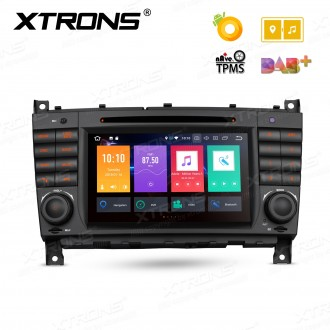 """7"""" Android 8.0 Octa-Core 32GB ROM + 4G RAM Multimedia DVD Player Custom fit for Mercedes-Bens"""