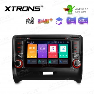 """7"""" Android 9.0 Octa-Core 32GB ROM + 4G RAM Car Multimedia DVD Player with GPS Custom fit for Audi"""