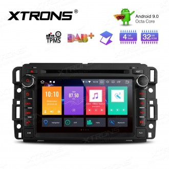 """7"""" Android 9.0 Octa-Core 32GB ROM + 4G RAM Car Multimedia DVD Player with GPS support car auto play Custom fit for Chevrolet / Buick / GMC / HUMMER"""