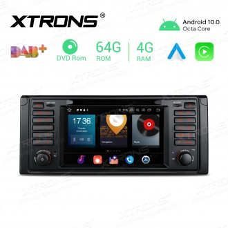 7 inch Android 10.0 Octa-Core 64G ROM + 4G RAM Car Multimedia GPS DVD Player Custom fit for BMW