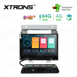 7 inch Android 9.0 Octa-core 64G ROM+4G RAM Car Stereo Multimedia GPS System Fit for Land Rover