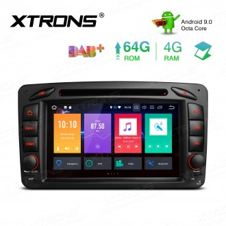 7 inch Android 9.0 Octa-Core 64G ROM + 4G RAM Car DVD Player Multimedia GPS System support car auto play Custom fit for Mercedes-Benz