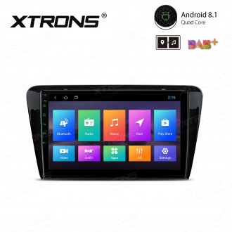 """10.1"""" Android 8.1 with Full RCA Output In-Dash GPS Navigation Multimedia System Custom Fit for Skoda"""