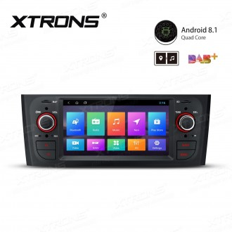 """6.1"""" Android 8.1 with Full RCA Output In-Dash GPS Navigation Multimedia System Custom Fit for Fiat"""