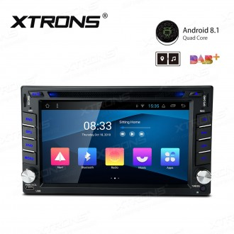 "6.2"" Android 8.1 with Full RCA Output In-Dash GPS Navigation Multimedia System Custom Fit for NISSAN"