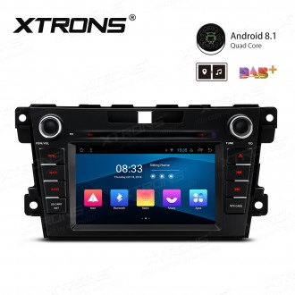 """7"""" Android 8.1 with Full RCA Output In-Dash GPS Navigation Multimedia System Custom Fit for Mazda"""