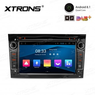 "7"" Android 8.1 with Full RCA Output In-Dash GPS Navigation Multimedia System Custom Fit for Opel 