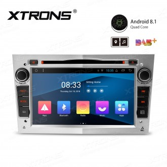 """7"""" Android 8.1 with Full RCA Output In-Dash GPS Navigation Multimedia System Custom Fit for Opel   Vauxhall   Holden"""