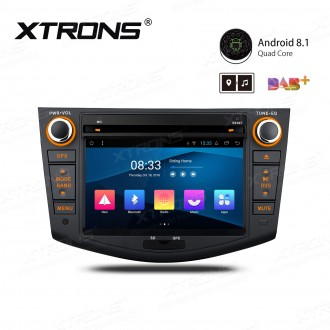 """7"""" Android 8.1 with Full RCA Output In-Dash GPS Navigation Multimedia System Custom Fit for Toyota"""
