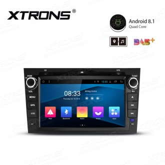 "8"" Android 8.1 with Full RCA Output In-Dash GPS Navigation Multimedia System Custom Fit for Honda CR-V"