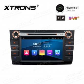 """8"""" Android 8.1 with Full RCA Output In-Dash GPS Navigation Multimedia System Custom Fit for SUZUKI"""