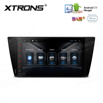 "9"" Android 7.1 Quad core 16GB ROM + 1GB DDR3 RAM Multimedia HD Touch Screen Car Stereo Custom Fit for BMW"