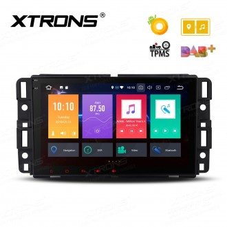 """8"""" Android 8.0 Octa-Core 32GB ROM + 4G RAM Multimedia Player Custom fit for Chevrolet/Buick/GMC/HUMMER"""