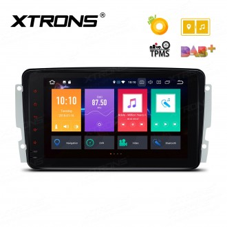 """Android 8.0 Octa-Core 32GB ROM + 4G RAM Multimedia Player with 8"""" Display Custom Fit for Mercedes-Bens"""