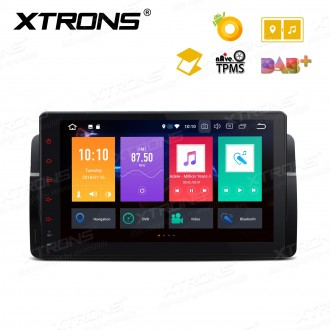 "Android 8.0 Octa-Core 32GB ROM + 4G RAM Multimedia Player with 9"" Display Support Car Auto Play Custom Fit for BMW / Rover / MG"