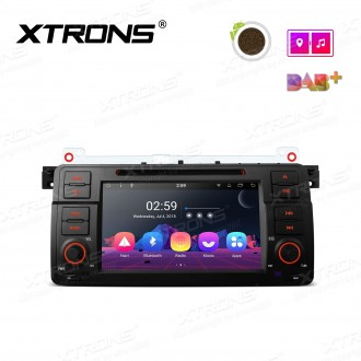 """7"""" Android 8.1 Octa-Core Car Stereo Smart Multimedia Player Custom fit for BMW"""