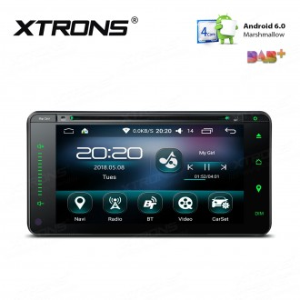 "6.95 "" Android 6.0 Marshmallow Quad core 16G ROM GPS Navigation Car DVD Player Custom Fit For Toyota"