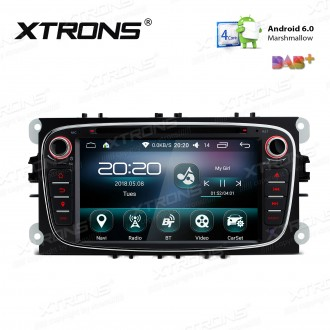 """7 """" Android 6.0 Marshmallow Quad core 16G ROM GPS Navigation Car DVD Player Custom Fit For Ford"""