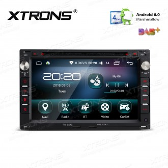"""7 """" Android 6.0 Marshmallow Quad core 16G ROM GPS Navigation Car DVD Player Custom Fit For Volkswagen / SEAT / SKODA"""