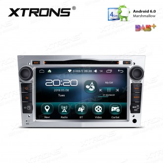 "7 "" Android 6.0 Marshmallow Quad core 16G ROM GPS Navigation Car DVD Player Custom Fit For Opel / Vauxhall"