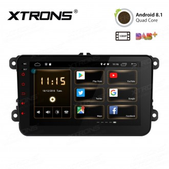"8 "" Android 8.1 HD Screen multifunctional Android Car Stereo with Full RCA Output Custom Fit For Volkswagen / SEAT / SKODA"