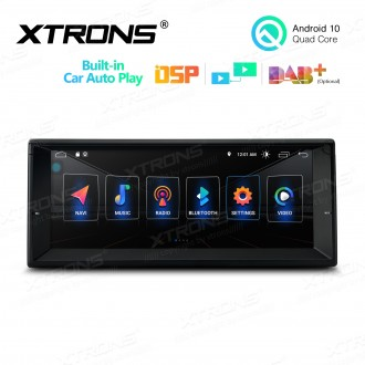 """10.25"""" Multimedia Car Stereo Navigation System with Built-in CarAutoPlay and DSP Custom Fit For BMW"""