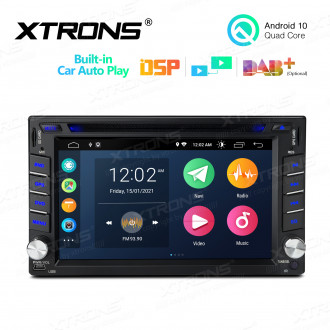 6.2 inch Multimedia Car DVD Player Navigation System With Built-in CarAutoPlay and DSP Fit for Nissan