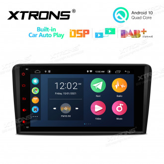 8 inch Android 10 Multimedia Car Stereo Navigation System With Built-in CarAutoPlay and DSP Fit for Audi