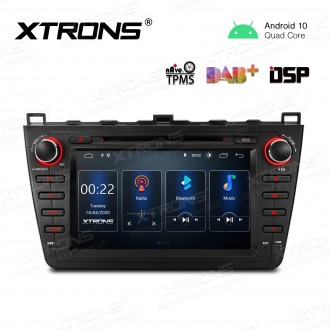 8 inch Android 10.0 Car Navigation Multimedia Player with Built-in DSP Custom Fit for Mazda