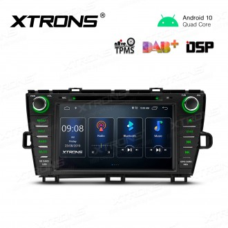 8 inch Navigation Multimedia Player with Built-in DSP Fit for TOYOTA Prius (Right Hand Drive)