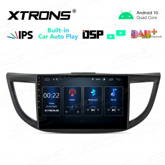 10.1 inch 2.5D IPS Screen 2GB RAM 32GB ROM Car GPS Navigation Multimedia Player With Built-in CarPlay and DSP Fit For HONDA