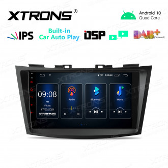9 inch IPS Screen 2GB RAM 32GB ROM Car GPS Navigation Multimedia Player With Built-in CarPlay and DSP Fit For SUZUKI