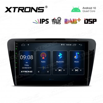 10.1 inch IPS Screen Navigation Multimedia Player with Built-in DSP Fit for SKODA