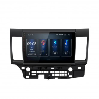 10.1 inch IPS Screen Navigation Multimedia Player with Built-in DSP Fit for Mitsubishi