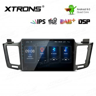 10.1 inch Android 9.0 IPS Screen with Built-in DSP Navigation Multimedia Player Fit for TOYOTA (Left Hand Drive Vehicles ONLY)