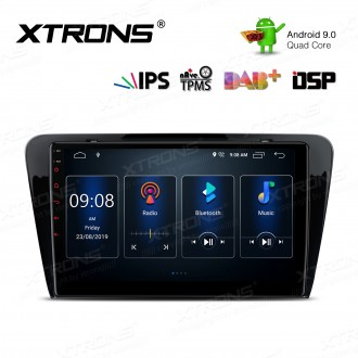 10.1 inch IPS Screen Android 9.0 Navigation Multimedia Player with Built-in DSP Fit for SKODA