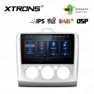 9 inch IPS Screen Android 9.0 Navigation Multimedia Player with Built-in DSP Custom Fit for Ford