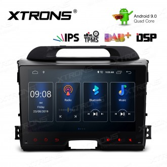 9 inch IPS Screen Android 9.0 Navigation Multimedia Player with Built-in DSP Fit for Kia