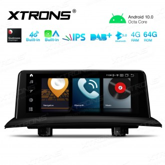 10.25 inch Car Android Multimedia Navigation System with Built-in 4G and CarAutoPlay/Android Auto for BMW X3 E83 with No Original Display