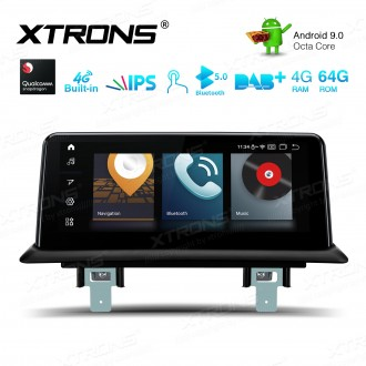 10.25-inch Car Android Multimedia Navigation System with Built-in 4G for BMW 1 Series E81/E82/E87/E88 with No Original System