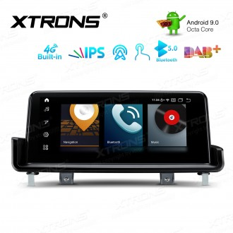 10.25-inch Car Android Multimedia Navigation System with Built-in 4G for BMW 3 Series E90/E91/E92/E93 Left Driving Vehicles