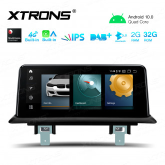 10.25-inch Android Navigation System with for Built-in CarAutoPlay and Android Auto and 4G Support Local 4G Carriers in Asia and Europe Area ONLY For BMW 1 Series E81 / E82 / E87 / E88 with No Original Display
