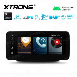 10.25 inch Car Android Multimedia Navigation System with Built-in 4G Support Carriers in Asia and Europe for Mercedes-Benz C-Class W205 / GLC-Class X253 & C253 / V-Class W447