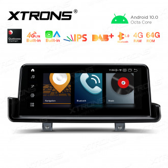 10.25 inch Car Android Multimedia Navigation System with Built-in CarAutoPlay & Android Auto Built-in 4G for BMW 3 Series E90/E91/E92/E93 Left Driving Vehicles