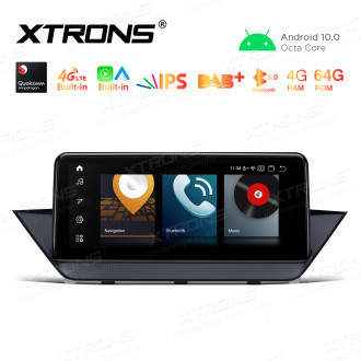 10.25 inch Car Android Multimedia Navigation System with Built-in 4G for BMW X1 E84 With No Original Display